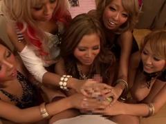 Cock Sucking Porn Videos With My Raisin, Rio Sakura And Marie Hayakawa