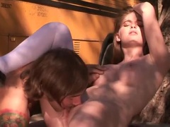 An Attractive Teenage Girl Faye Reagan Makes A Dude Sperm