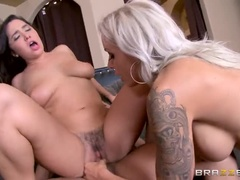 Blowjob Sex Video With The Image Of Xander Corvus, Karlee Gray And Nina Elle