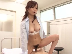 Charming Buxomy Asian Nachi Sakaki Love In Creamie