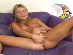 An Incredible Teenage Girl Ginger, Performing Incredible Masturbation