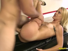 The Charming Unclean Teenage Gal Blows A Cock