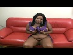 Cute Black Bitch Showing Porn Videos Masturbating