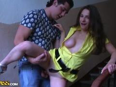 Brunett Sex Video Med Snazzy Huzzies