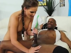 The Highest Breast Teenage Whore Serving In The Interracial Porn Video