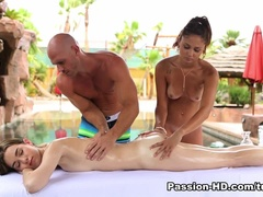 Massage Sex Video Featuring Ariana Marie And Tali Dova