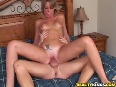 God-Shaped, Choleric Latin Teenager Is Blowing A Cock
