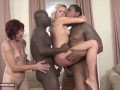 A Wonderful, Experienced Woman Showing A Wonderful Interracial Sex Video