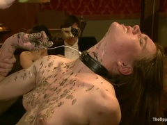 Pornstar Sex Video Med Kait Snö, Krysta Kaos Och Jessie Coxxx