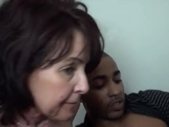 Drooling Prostitute Acting In Interracial Porn Video